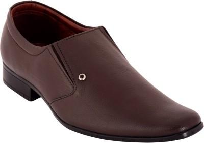 Claude Lorrain Claude Lorrain Men,s Brown Semi Formal Shoes Slip On