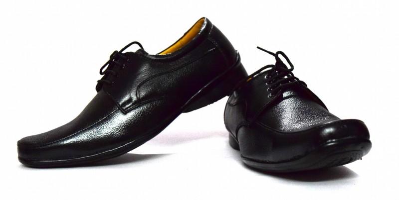 Black Gazelles Lace Up Shoes(Bla...