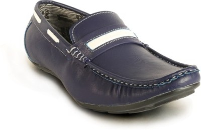 Calaso 202 Blue Loafers