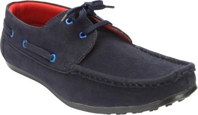 Savie Shoes JMSS1-Blue Boat Shoes