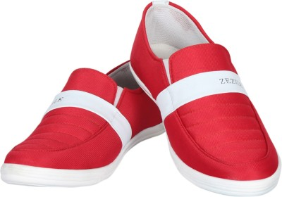 Zezile Red Loafers