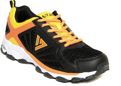 SEVEN Hogun Black/Orange peal/Butter Cup running shoes Running Shoes