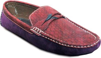 Strilex Purple Stylish Loafers