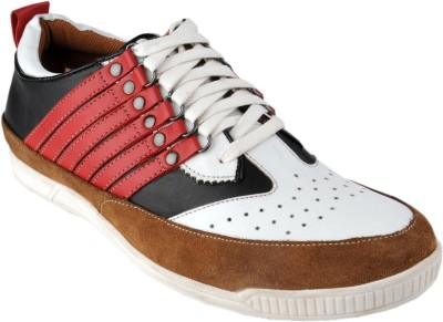 Delize 3024redwhite Casual Shoes