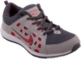 Just Go Men Durable Fancy Grey Red Sport...