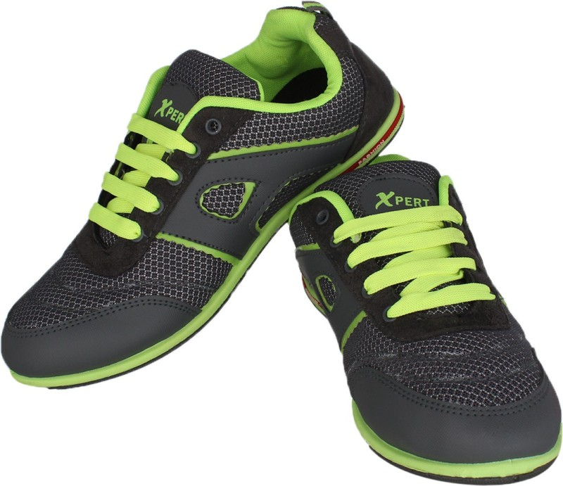 Xpert Running Shoes(Grey, Green)...