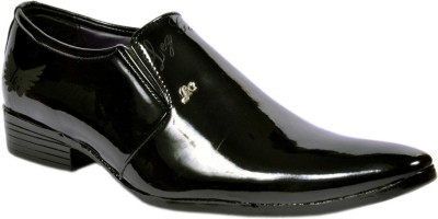 Leg Guard Formal Slip On Shoes