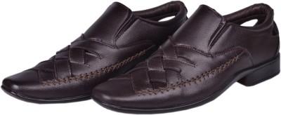 San Bushman Stylish Brown Royal Casual Shoes