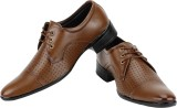 Knot n Lace OfficeWear Lace Up (Tan)