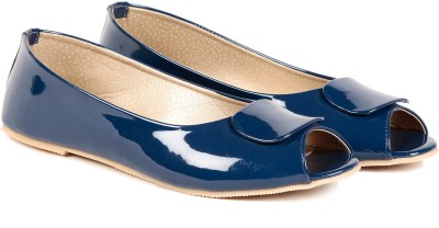 TEN Blue Patent Leather Bellies