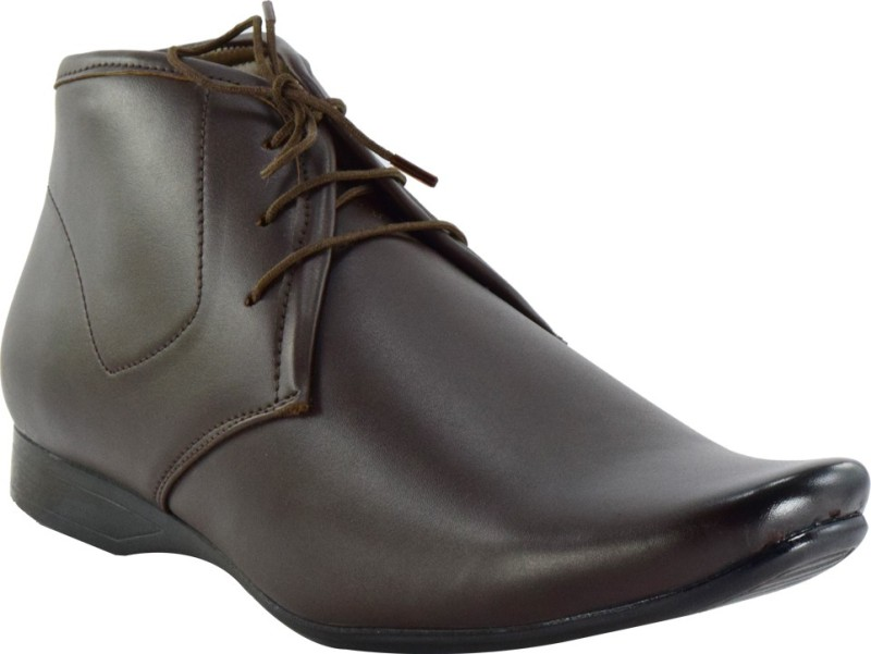 Oxhox Lace Up Shoes(Brown)