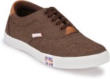 k d perfect footwear Canvas Shoes (Brown...