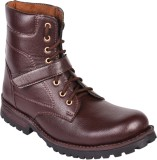 Affican high long Boots (Brown)