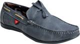 Oora AS-BRAV-GOLD-BL Boat Shoes (Black)