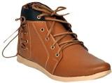 DLS Sneakers (Tan, Blue)