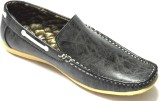 BLK LEATHER Casual Shoes (Grey)