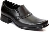 George Adam Slip On Shoes (Black)