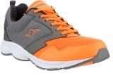 Sparx Running Shoes (Grey, Orange)