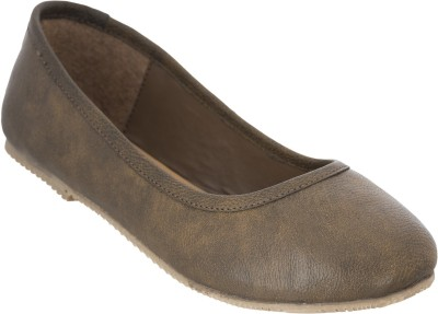 Advin England Genuine Leather Brown Belly Slip On