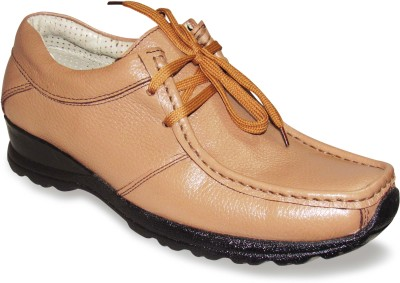 Sapatos Tan Genuine Leather stylish Outdoors Shoes