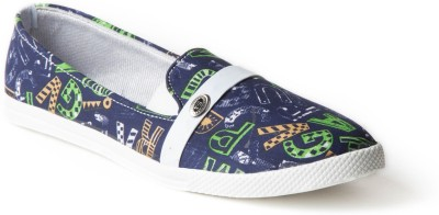 Babes Women Multi Star Loafers