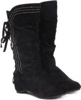 Ten Beautiful Black Boots(Black)