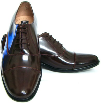 ASM Genuine Leather Oxford Lace Up Shoes