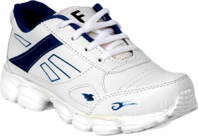 Fuoko ACROMIC Walking Shoes(White, Blue)