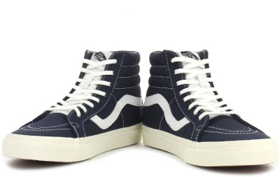 VANS Sk8-Hi Reissue Men High Ankle Sneakers(Navy)