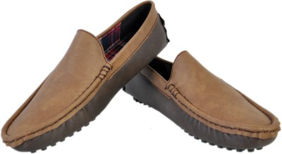 Stylords Stylish Brown Loafers Loafers