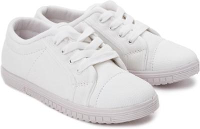 Footfun By Liberty Tenis-White Canvas Shoes
