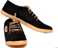 Shoe Mate Sm-226 Black Casual Shoes(Black)