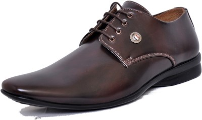West Code Men's Synthetic Leather Formal Casual Shoes D-73-Brown-9 Casuals