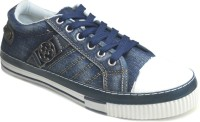 Fast Trax 5705 Blue Canvas Shoes