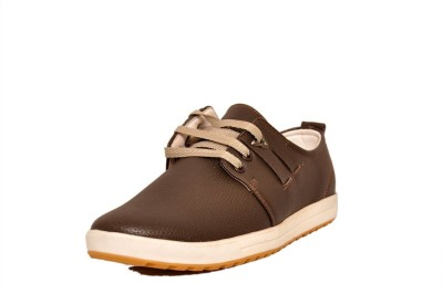 West Code Men's Synthetic Leather Casual Shoes 814-Brown-10 Casuals