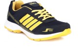 Trywell Running Shoes (Navy, Yellow)