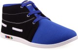 Wepro C3 Black Blue Casual Shoes (Black,...