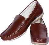 Funku Fashion Loafers (Brown, Brown)