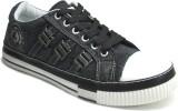 Fast Trax 5707-Black Canvas Shoes (Black...