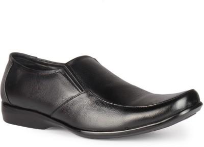 Leather King Martin Black Slip On