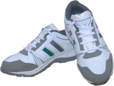 Styleon India 2 Line White Running Shoes