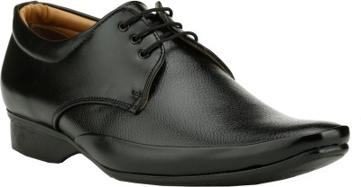 Step Mark FFS-8314-BLACK Lace Up Shoes