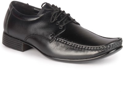 Leather King Alan Black Lace Up