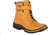 Fine Comfort Boots (Tan)