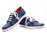 Oxygen Leather Look Casuals (Blue)