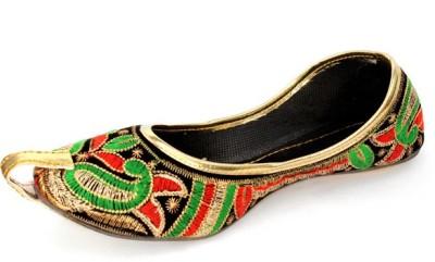 Rajsthali Footwear Colorful Mojaris