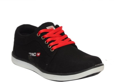 Twd Tp1139 Blk Red Running Shoes