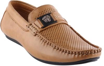 Smart wood 3502 Beige Loafers Shoe