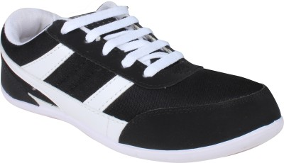 Histeria Star White & Black Running Shoes