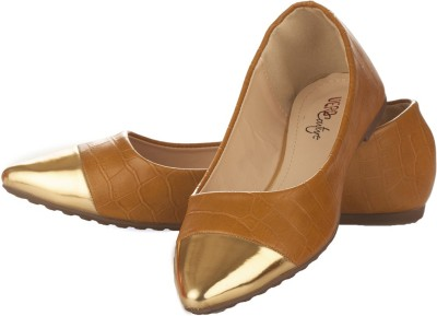 Vero Couture Dorsay Brown Flat Bellies